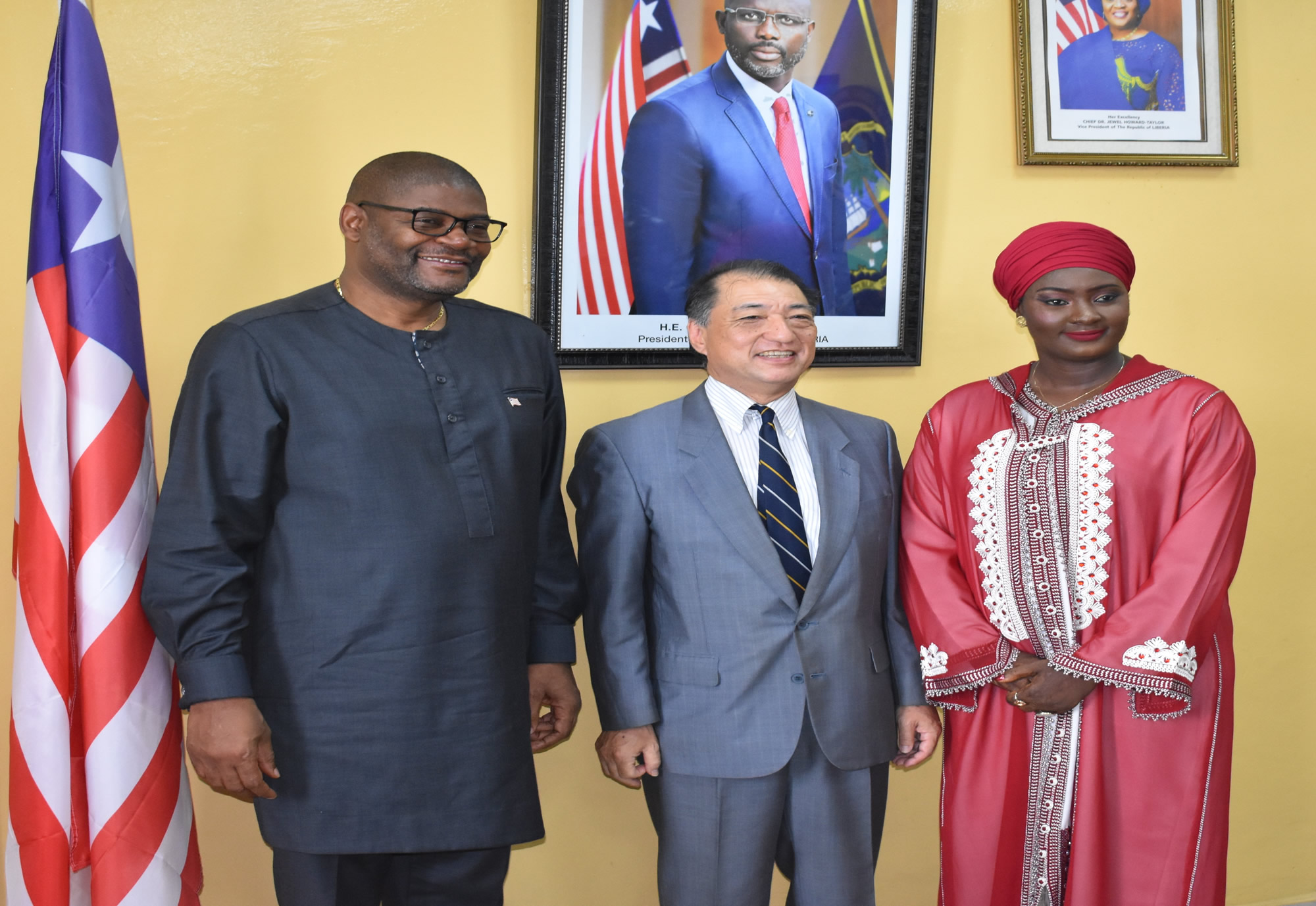Liberia and Japan Sign Fisheries Grant Agreement